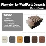 Decking ao ar livre composto plástico de bambu de Bpc