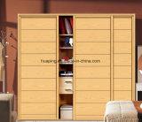 Het moderne die Hoge Ontwerp polijst de Garderobe van de Slaapkamer in China wordt gemaakt