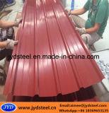 台形のタイプが付いているカラーによって塗られる電流を通された鋼鉄屋根シート