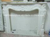 Camino di marmo poco costoso della decorazione domestica di pietra naturale (SY-MF135)