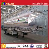 De veículo comercial da liga 2axles do tanque do petroleiro reboque Fuel Oil de alumínio de pouco peso Semi