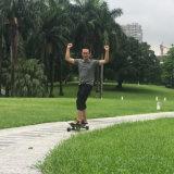직관적인 통제 전기 스케이트보드 원격 제어 필요 없음