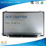 14.0 '' LED LCD EDV 30pin N140bge-E43 Laptop Notebook für CD LED Screen Display Panel Screen