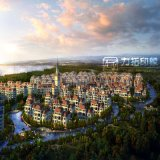 都市計画外部の建築レンダリングのプロジェクト