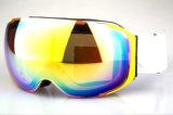 De weerspiegelde Beschermende brillen van de Ski van de Helm van de Lens van PC Magnetische Verwisselbare Compatibele