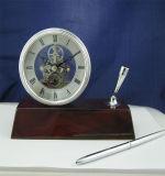 De met de hand gemaakte Speciale Klok K8044A van de Lijst van de Ambacht van de Manier Houten voor de Vastgestelde naar huis Decoratie K8044 van de Gift