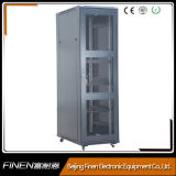 Cabina derecha del estante clásico del servidor 42u con el alto cargamento del echador