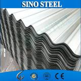 Hoja de acero acanalada galvanizada 22 calibradores de fabricación del material para techos
