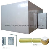 Sitio del congelador del poliuretano para el almacenaje de la carne con la resistencia de fuego (C.C.)