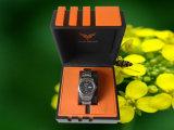 Caixa de relógio de madeira luxuoso (WO-141)