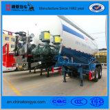 30m3-60m3 탄소 강철 물자를 가진 대량 시멘트 탱크 트레일러