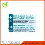 Emplastro médico da emergência dos primeiros socorros do adesivo de PE/PVC Steriled