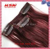 "Piano Colors et Highlights Colors 16 "" - 26 "" Long Clip dans Human Hair Extensions"