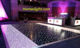 Discoteca in bianco e nero Dance Floor 12FT * 12FT di Twinkling LED Dance Floor
