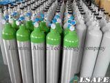 0.5L ao cilindro de gás de alumínio do oxigênio 50L médico