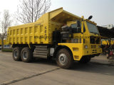 Sinotruk HOWOのブランドダンプトラックを採鉱する60トン