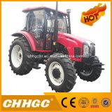 trator China 100HP 4 Wd da roda 100HP, trator de exploração agrícola do motor de Yto