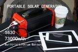 Génératrice d'énergie solaire légère Système de stockage d'énergie solaire 73000mAh