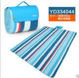 Blue e Red rurali Color Bar Microfiber Picnic Blanket