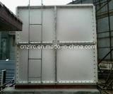Recipiente flexível do tanque de armazenamento da fibra de vidro GRP do projeto para o armazenamento da água