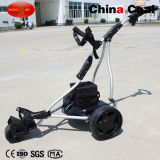 Faltbares Electric Remote Control Hand Push 3wheels Golf Bag Trolley