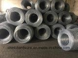 Alambre de acero galvanizado electro al por mayor del hierro (BWG8#-22#)