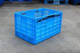 Caixa plástica Foldable da série 600*400 para o vegetal e a fruta