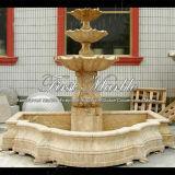 Fontana antica del travertino per la decorazione domestica Mf-234