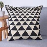 Het digitale Decoratieve Kussen/het Hoofdkussen van Af:drukken met Geometrisch Patroon (mx-64)