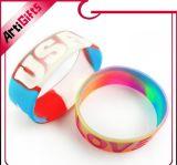 Kundenspezifischer umweltfreundlicher GummisilikonWristband