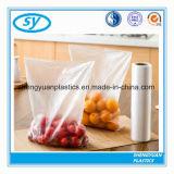 Sac en plastique biodégradable d'emballage de nourriture de PE sur le roulis