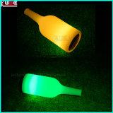 Le bidon de bière rechargeable de DEL met la lampe en bouteille avec annoncent la lampe de Tableau