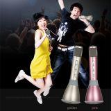 Microfone dourado do altofalante de Tuxun K068 Bluetooth