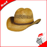 Sombrero de paja del vaquero, sombrero de vaquero, sombrero de paja, sombrero de paja de la rafia