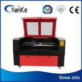Machine de découpage en bois acrylique de laser de CO2 en métal d'acier inoxydable
