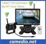 バスRVトラックの手段の監視システム7インチのモニタ+トラックの無線背面図のバックアップカメラシステムキット