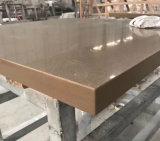Bancada de pedra de superfície contínua de quartzo pré-fabricado