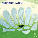 Pieza natural del zapato del látex