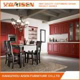 Module d'entreposage en Module de cuisine de maison de meubles en bois solide