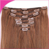 Manera Remy Clip europeo en Hair Extension Human Hair