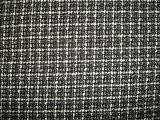 Tela de lana de la tela cruzada del paño grueso y suave izquierdo del cepillo