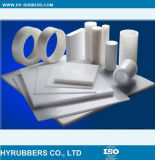 Productos puros del plástico del Teflon del 100% PTFE