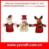 Décoration heureuse de jour de Noël de sac de cadeau de Noël de la décoration de Noël (ZY16Y277-1-2-3 28X14CM)