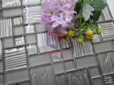 Azulejo de mosaico cristalino del color de plata (CFC633)