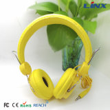 PU Soft Headband Headphone con Blister Packing