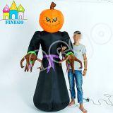 Finego Halloween Partei-Dekoration-aufblasbare Karikatur spielt Kürbis-Monster