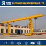 5トン容量の移動式Lタイプガントリークレーン