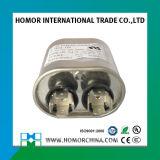 Capacitor Sh feito sob encomenda de prata da bomba de água Cbb65 do condicionador de ar do tamanho