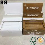 더 부유한 14GSM 매우 얇은 느린 불타는 담배 흡연 종이 뭉치
