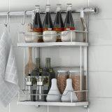 Установленный стеной шкаф специи кухни металла провода